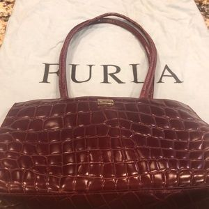 Furla Burgundy Shoulder bag